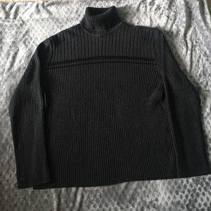 Calvin Klein Grey Turtleneck Sweater!
